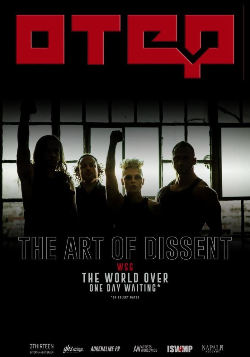 "OTEP Announces ""The Art of Dissent"" Fall U.S. Headline Tour Dates"