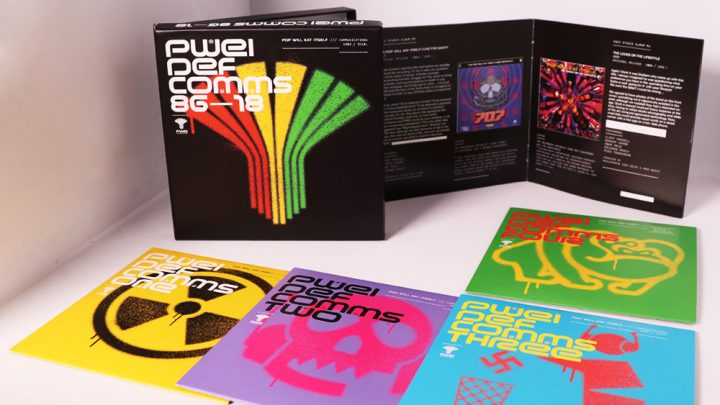 POP WILL EAT ITSELF – PWEI: DEF COMMS 86 – 18,  /// COMMUNICATIONS 1986 / 2018, 4CD DELUXE BOXSET