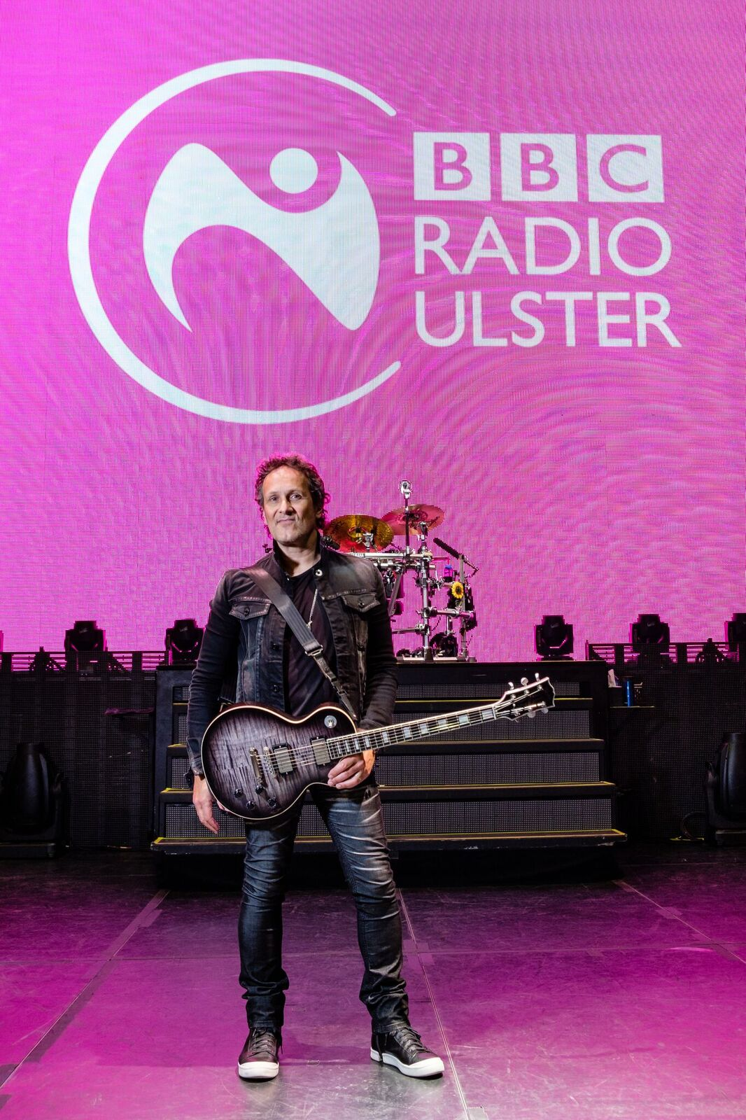 BBC Ulster Announces Series With Viv Campbell (Def Leppard)