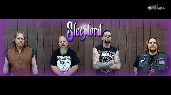 SLEEPLORD SIGN WORLDWIDE DEAL WITH PURE STEEL RECORDS