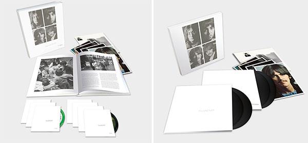 The Beatles (White Album) 7-Disc Super Deluxe + Deluxe 4LP Editions!