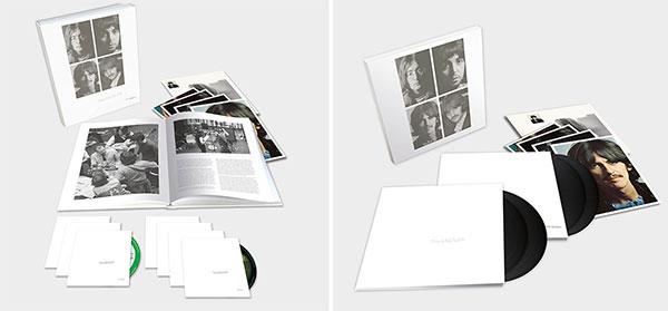 The Beatles (White Album) 7-Disc Super Deluxe + Deluxe 4LP Editions!