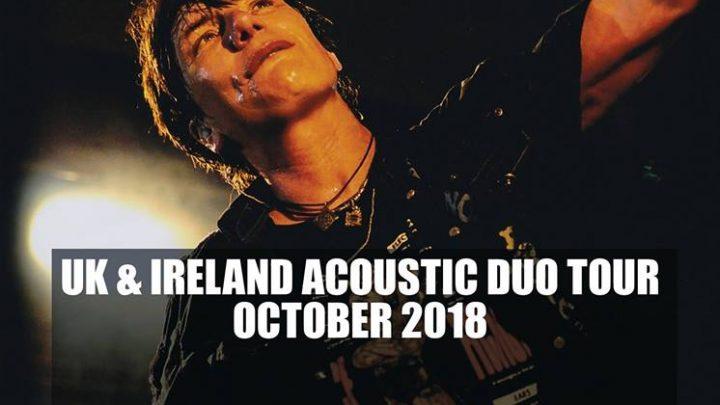 Eric Martin – Bannermans – Edinburgh – 16th October 2018