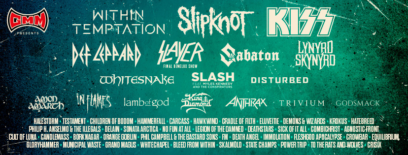 New names for Graspop Metal Meeting 2019! – Day tickets go on sale on Thursday 1/11 at 10 AM.