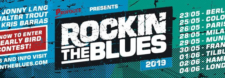 Rockin' The Blues 2019 Tour feat. Jonny Lang, Walter Trout & Kris Barras