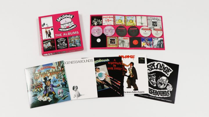 SPLODGENESSABOUNDS: THE ALBUMS, 5CD CLAMSHELL BOXSET