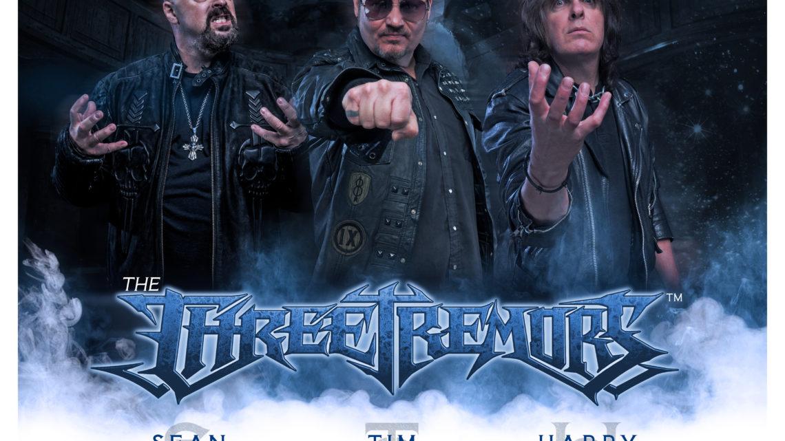THE THREE TREMORS (feat. Tim 'Ripper' Owens, Sean Peck, Harry Conklin release their new album 18th Jan. 2019