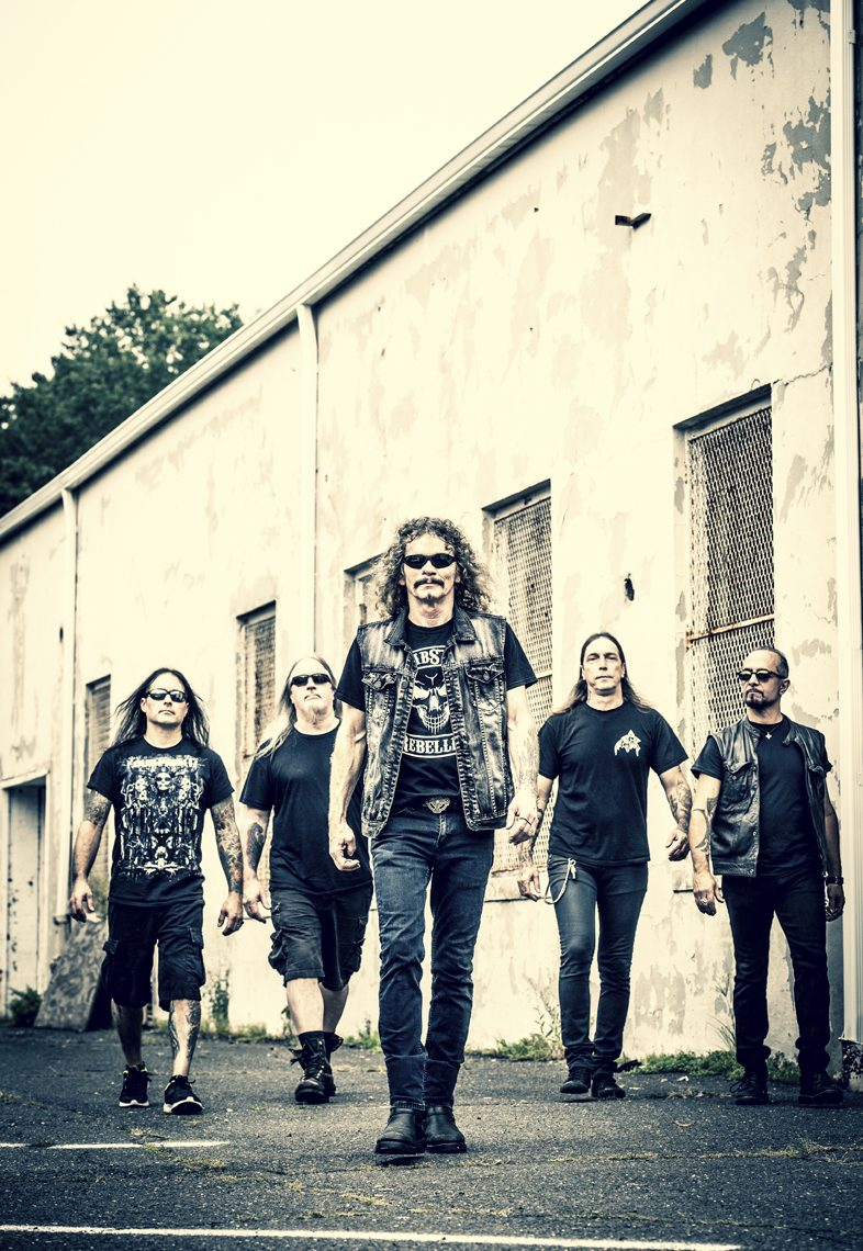 OVERKILL   unveil first single 'Last Man Standing' + pre-order available now!