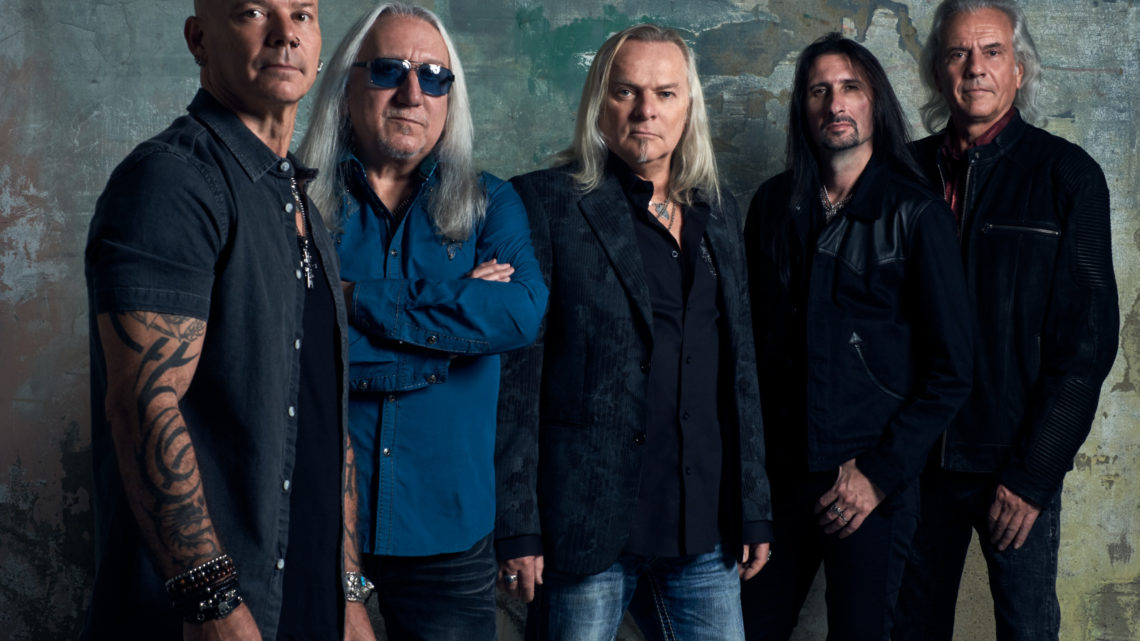 """Uriah Heep To Release """"Living The Dream"""" September 14th via Frontiers Music Srl; First Video and Single Streaming Now"""
