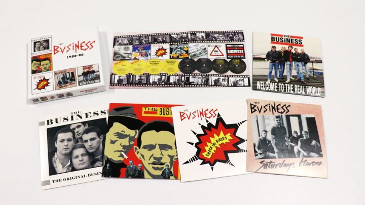 The Business: 1980-88, 5CD Clamshell Boxset