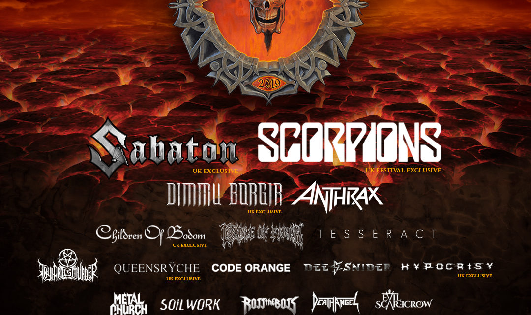 BLOODSTOCK announces four more for 2019…