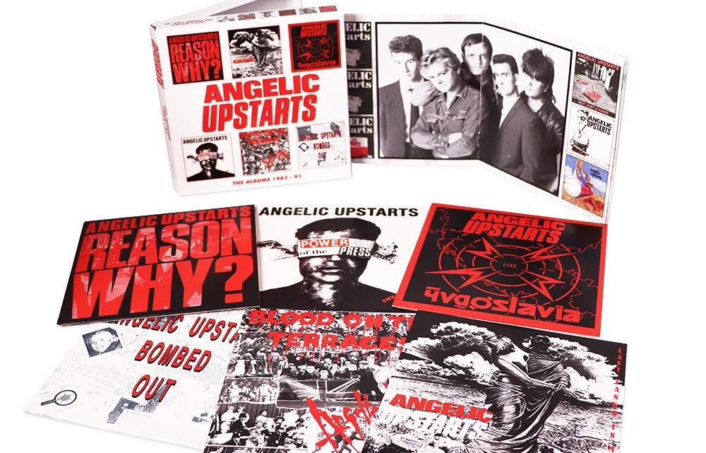 Angelic Upstarts: The Albums 1983-91, 6CD Clamshell Boxset