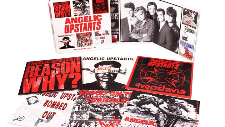 Angelic Upstarts: The Albums 1983-91, 6CD Clamshell Boxset