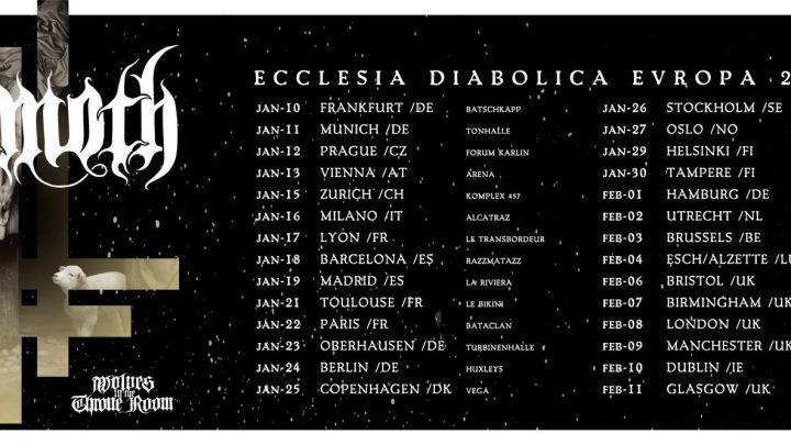 BEHEMOTH | 'Ecclesia Diabolica Catholica' music video, European tour kick off