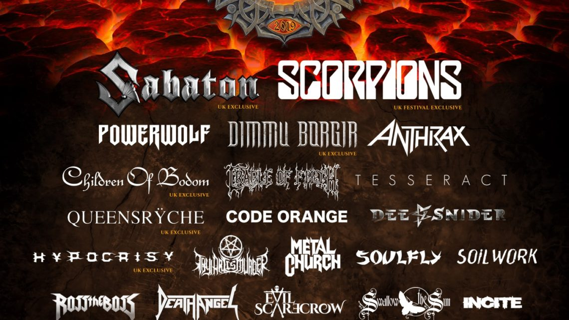 BLOODSTOCK announces 4 more bands to kick off 2019