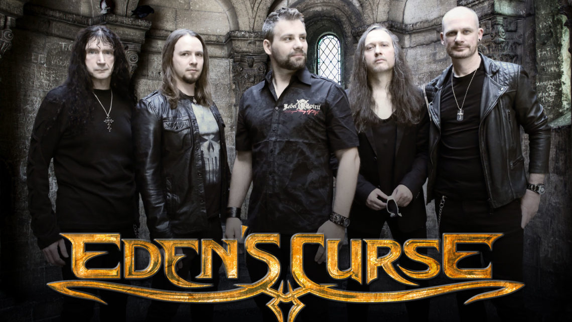 EDEN'S CURSE TEAM UP WITH MOB RULES & DEGREED FOR UK TOUR