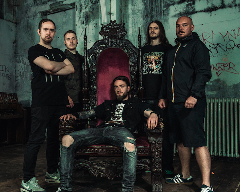 INGESTED to tour UK and Ireland with The Black Dahlia Murder