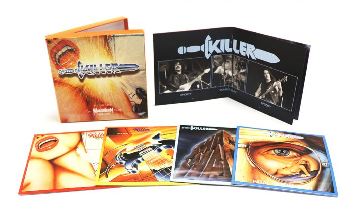 Killer: Volume One, The Mausoleum Years 1981-1990, 4CD Clamshell Boxset