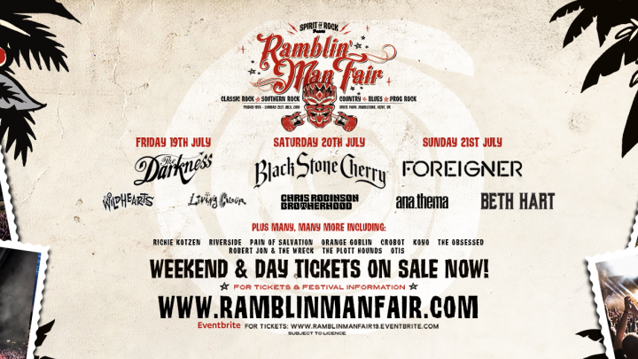 Ramblin' Man Fair – Announce Sunday Headliner