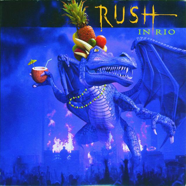 Rush – Rock In Rio – 4LP Box Set