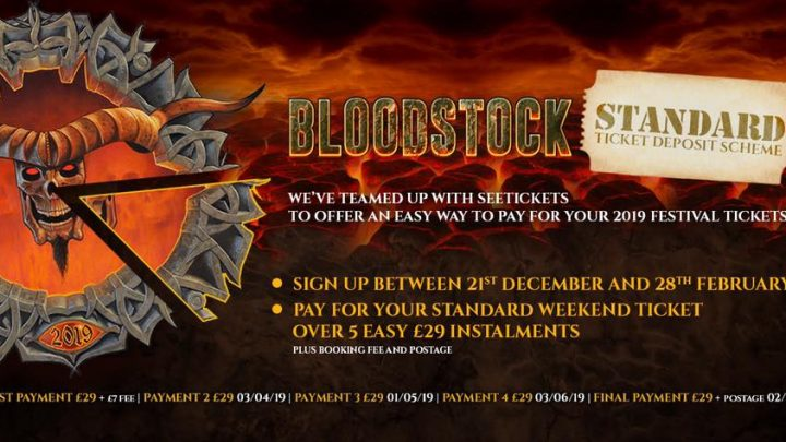 BLOODSTOCK gifts metal for Valentines Day