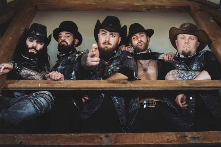 EX-THE DEFILED, GRIM REAPER, FURY AND VILLAINS MEMBERS UNVEIL NEW PROJECT  BOOTYARD BANDITS