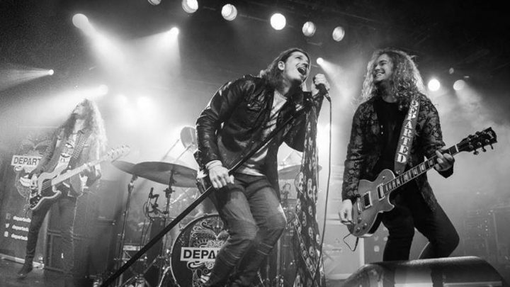DEPARTED Release Vibrant Single and Video from their 'Tides' EP