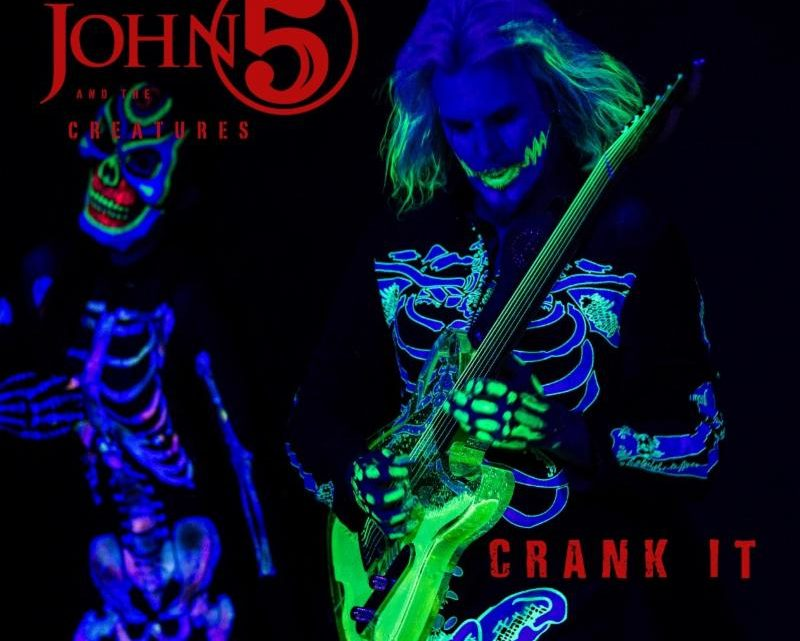 """JOHN 5 AND THE CREATURES Reveal New Music Video for Two-Part Track """"Crank It – Living With Ghosts"""""""