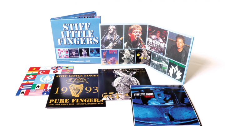 Stiff Little Fingers: The Albums 1991-1997, 4CD Clamshell Boxset