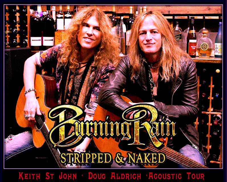 BURNING RAIN – acoustic tour to promote brand new album 'Face The Music' : out now on Frontiers