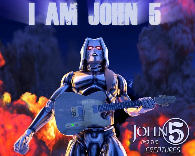 """JOHN 5 AND THE CREATURES Reveal New Music Video for  """"I Am John 5"""", the Sequel to """"Zoinks!"""""""