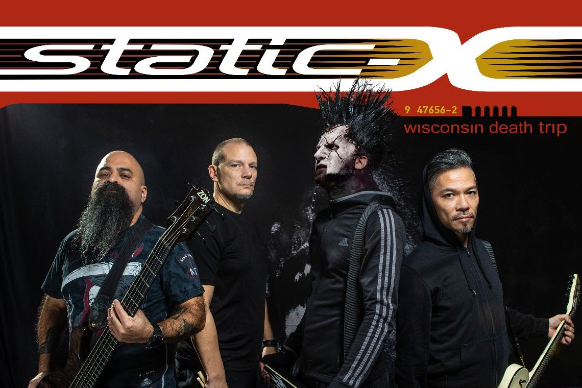 Static-X: UK Wisconsin Death Trip 20th anniversary tour & memorial tribute to Wayne Static announced