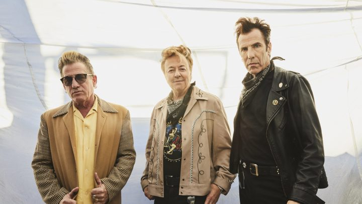 The STRAY CATS reveal official video for 'Rock It Off'