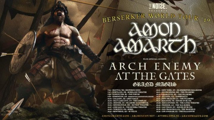 At The Gates Announces Tour Dates Supporting Amon Amarth