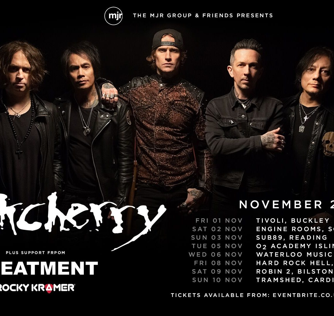 BUCKCHERRY Announce November UK Tour