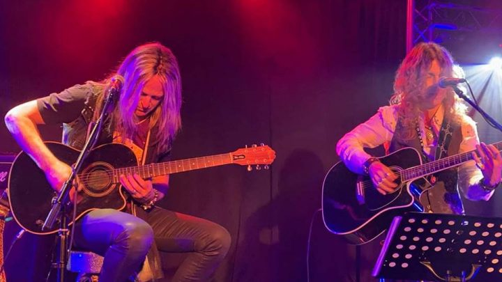 Doug Aldrich and Keith St John – Stripped and Naked at Bannermans, Edinburgh 8th April 2019