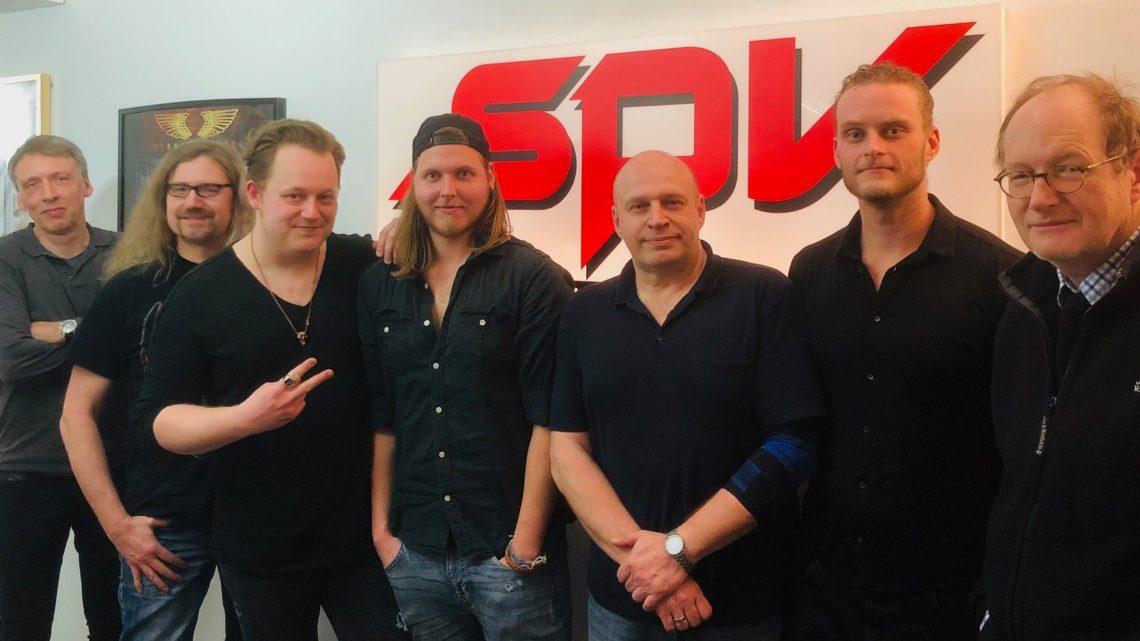 SPV/Steamhammer signs worldwide deal with german progressive Hard Rock band CRYPTEX!