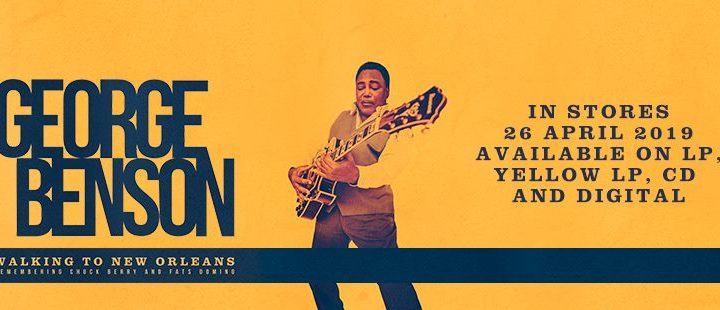 George Benson Unveils Official Video For Havana Moon From New Album: Walking To New Orleans Out April 26th via Provogue/Mascot Label Group