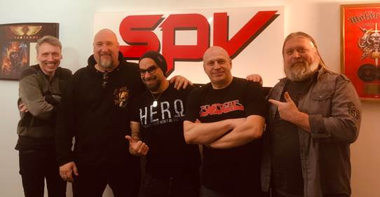 RAGE sign with SPV/Steamhammer! 25th studio album due out in January 2020 Festival tours in summer & winter 2019