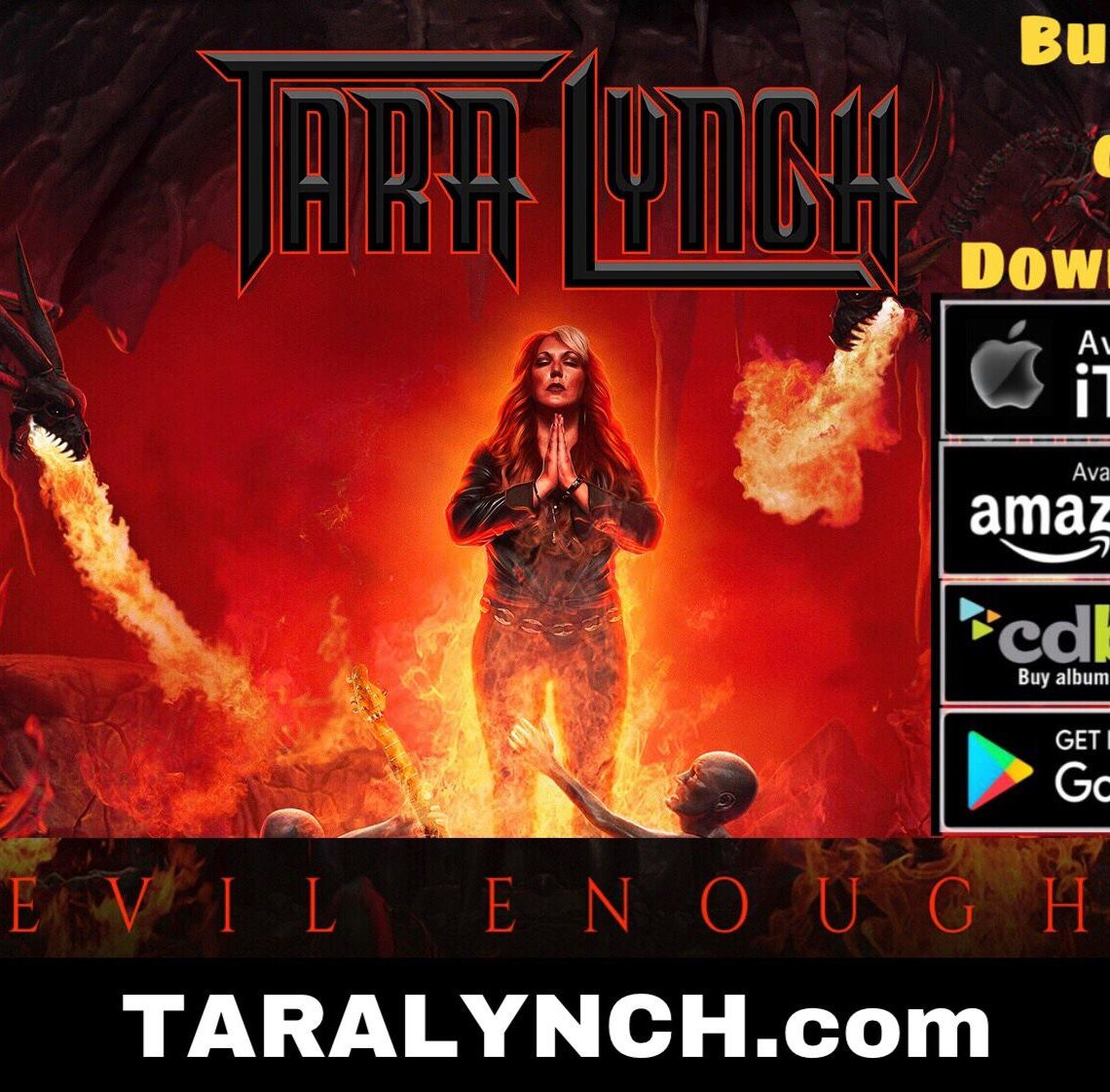 "Tara Lynch – ""Evil Enough"""