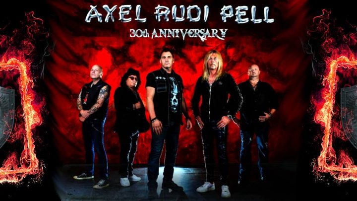 "AXEL RUDI PELL received ""30th Anniversary Award"" from his record company!"