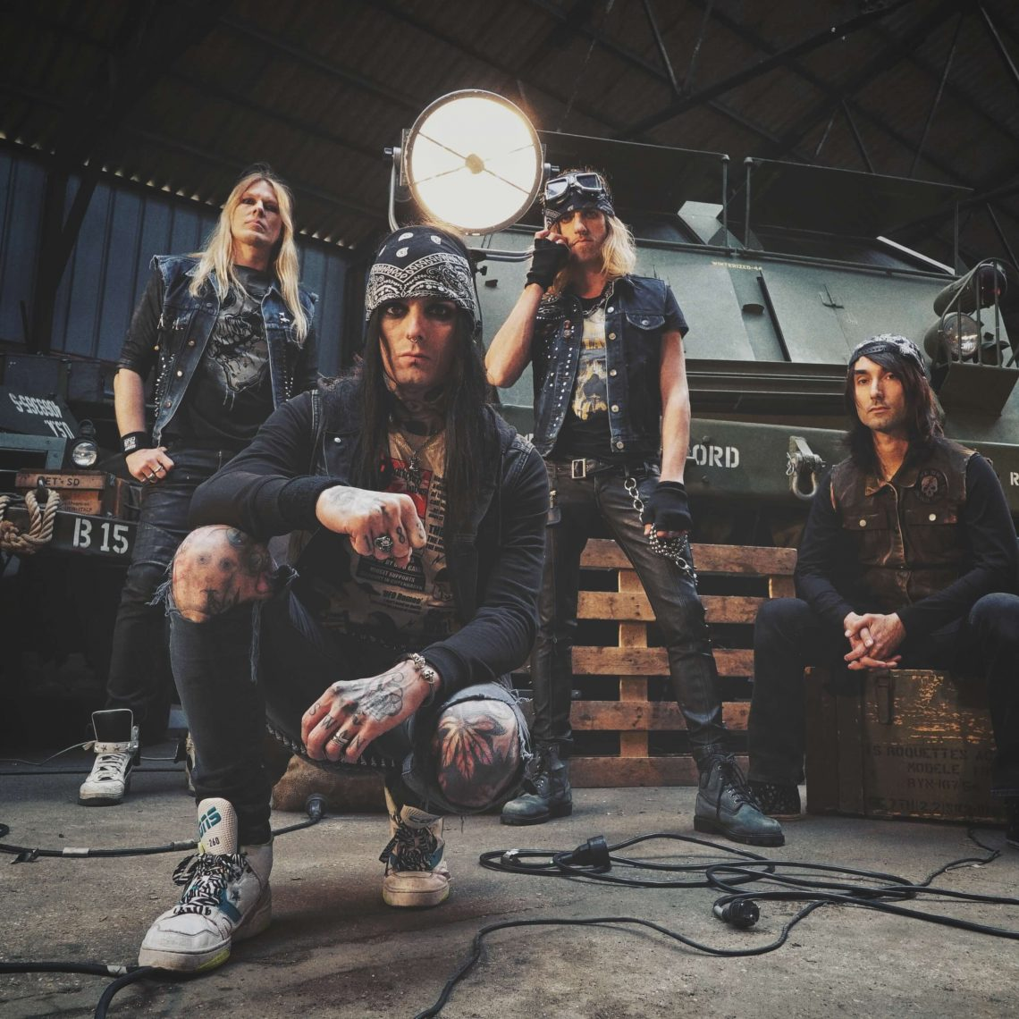 BLACKRAIN release new single and video!