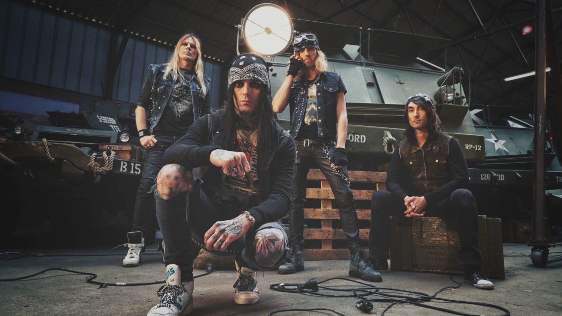 French Sleaze rocker BLACKRAIN releases third single and video today