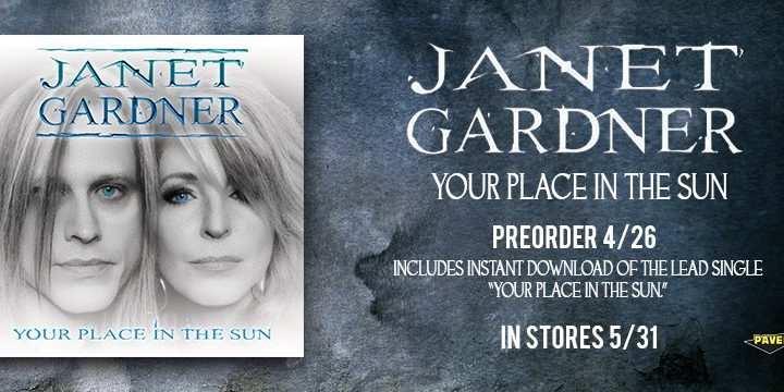 "Janet Gardner launches ""Your Place In The Sun"" video"