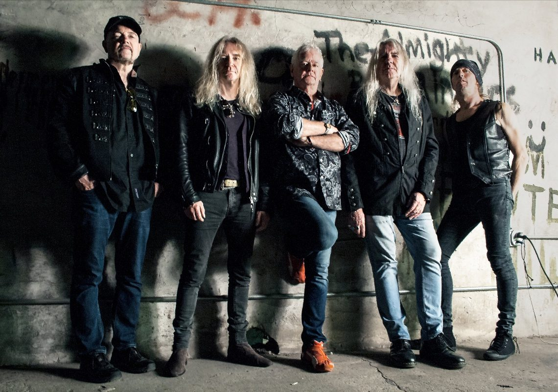 """SAXON PROUDLY DISPLAY THEIR """"INSPIRATIONS"""" WITH NEW CLASSIC COVERS RELEASE  FIRST SINGLE 'PAINT IT BLACK' OUT NOW"""