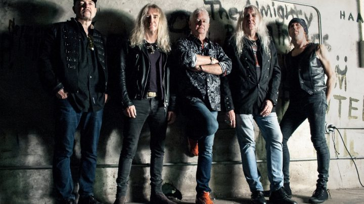 "SAXON PROUDLY DISPLAY THEIR ""INSPIRATIONS"" WITH NEW CLASSIC COVERS RELEASE  FIRST SINGLE 'PAINT IT BLACK' OUT NOW"
