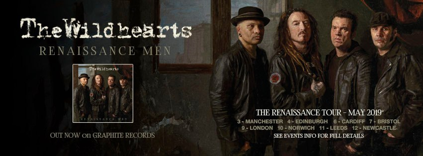 Interview At The Manchester Academy May 3rd 2019 With CJ of The Wildhearts