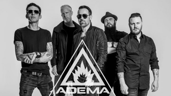 ADEMA Announces New Front-Man, RYAN SHUCK, and 2019 Fall Tour with Powerman 5000, (hed) p.e., The Genitorturers