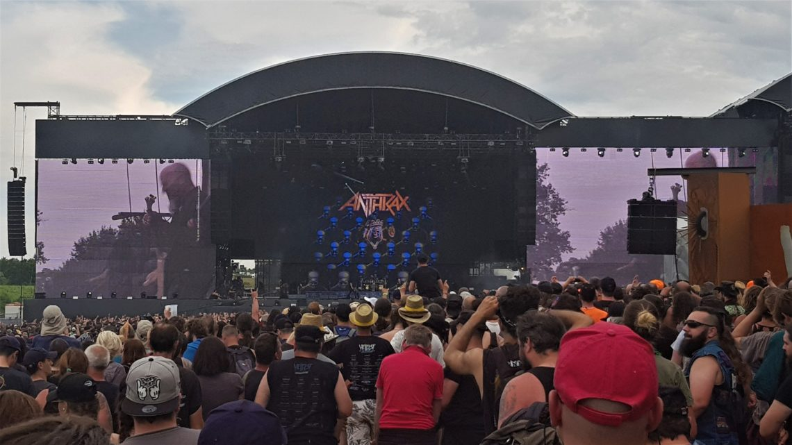 Steelhouse Festival: Anthrax and Therapy? confirmed for the 10th anniversary edition 23rd-25th of July, 2021