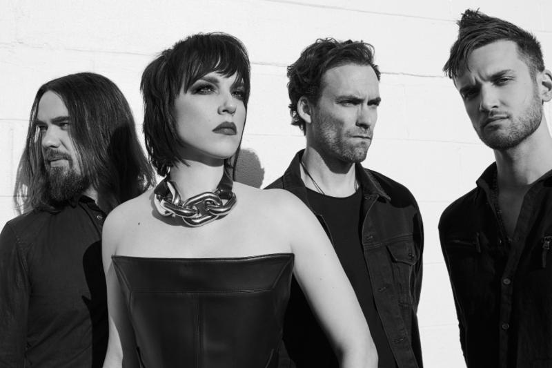 HALESTORM ARE THE FIRST FEMALE-FRONTED BAND EVER TO HEADLINE STAGE TWO AT DOWNLOAD FESTIVAL